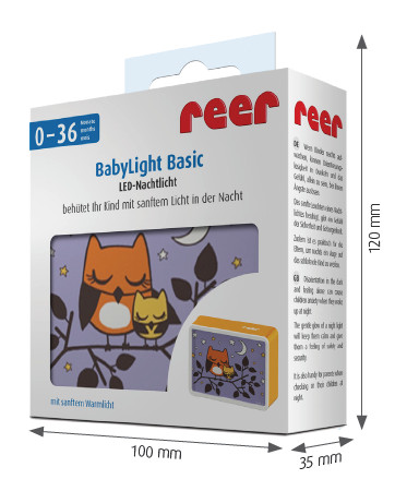 REER Lampka Nocna LED Basic